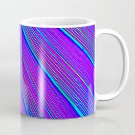Blue Pink Stripes Coffee Mug