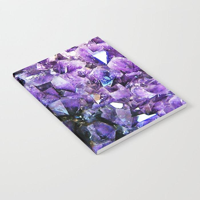 Amethyst Geode Notebook
