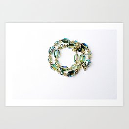 Crystal Bracelet Art Print