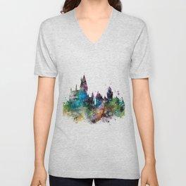 Hogwarts 2 Unisex V-Neck