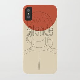 silence. iPhone Case