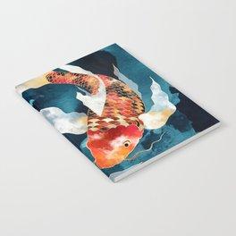 Metallic Koi II Notebook