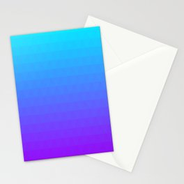 Blue and Purple Ombre Stationery Cards