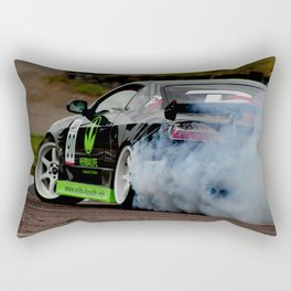Creating smoke Rectangular Pillow
