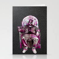 notorious big Stationery Cards featuring Notorious Big *King* by Gold Blood