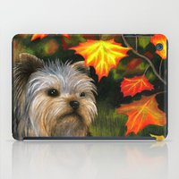 yorkie iPad Cases featuring Yorkie dog by ArtbyLucie