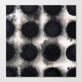 Discs Canvas Print