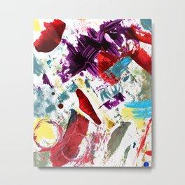 Funky painted mess Metal Print
