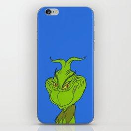 Grinchy iPhone Skin
