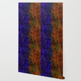 Colored Rusty Abstract Grunge Texture Print Wallpaper