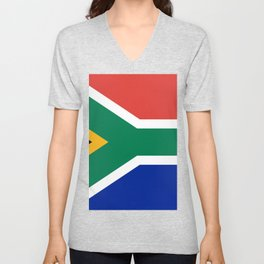 South Africa Flag Unisex V-Neck