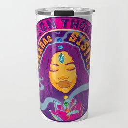 Crystal Lotus Travel Mug