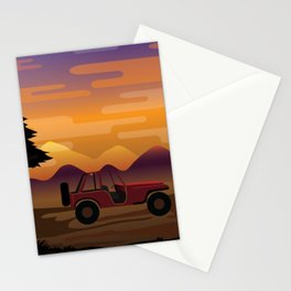 5unset Stationery Cards