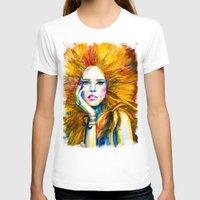 zodiac T-shirts featuring Leo Zodiac by Slaveika Aladjova
