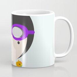 Swimming with unicorn Coffee Mug