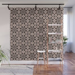 Pale Dogwood Floral Pattern Wall Mural