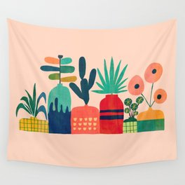 Plant mania Wall Tapestry