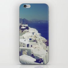 Santorini White & Blue iPhone & iPod Skin