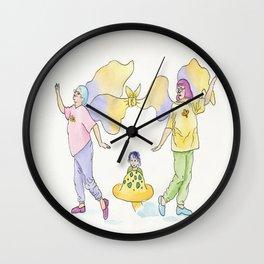 Frumpy Fairy 2 Wall Clock