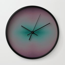 Pastel Sun Lips Wall Clock