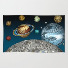 To The Moon And Beyond Rug