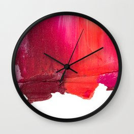 Smearies Wall Clock