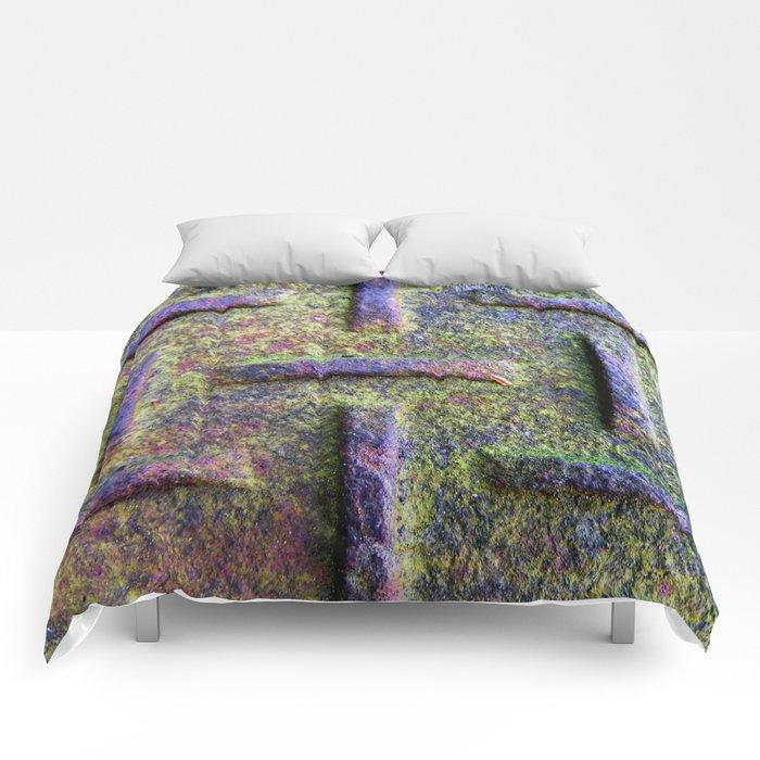 Moss Emboss Comforters