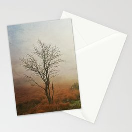 vanishing landscape Stationery Cards