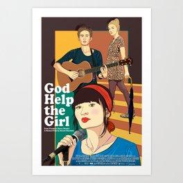 God Help the Girl Art Print