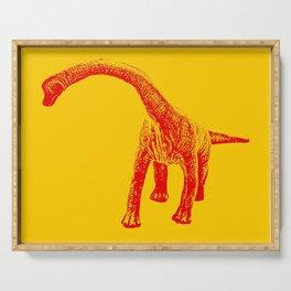 Brontosaurus Serving Tray
