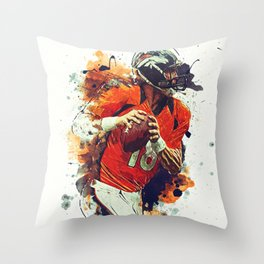 Peyton Manning Throw Pillow