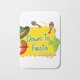 Down To Fiesta Cinco De Mayo Bath Mat