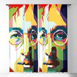 Jealous Guy Pop Art WPAP Blackout Curtain
