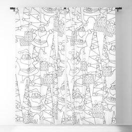Jingle Jangle - Coloring Book Blackout Curtain