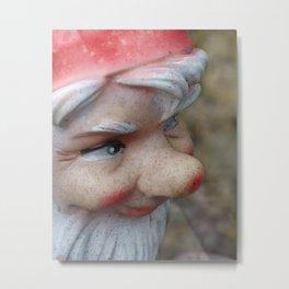 nosy gnome Metal Print