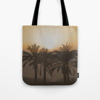 arabic Tote Bags featuring Arabic by Louise Machado