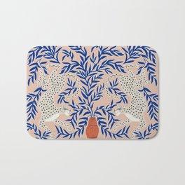 Leopard Vase Bath Mat
