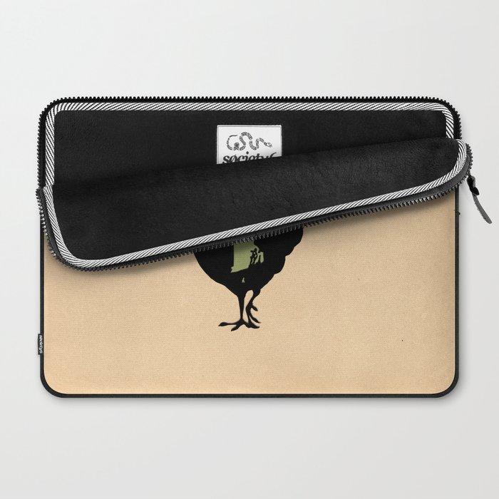 Rhode Island - State Papercut Print Laptop Sleeve