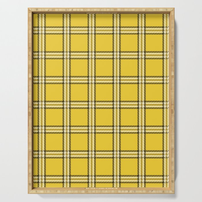 Clueless Plaid Serving Tray