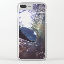 iron sharpens iron Clear iPhone Case
