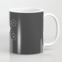 Grey Unrolled D12 Coffee Mug