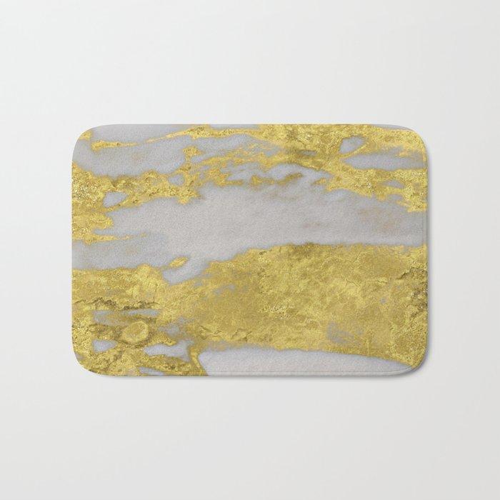 Agria gold marble Bath Mat