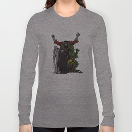 The Demonsterables (no text) Long Sleeve T-shirt