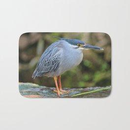 Striated Heron Bath Mat