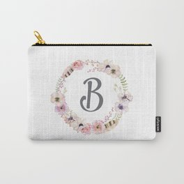 Floral Wreath - B Carry-All Pouch