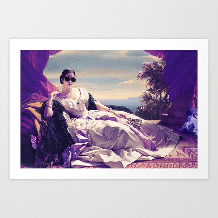Princess Leonilla Remastered Art Print