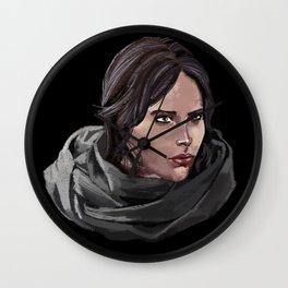 Jyn Erso SW Rogue One Wall Clock