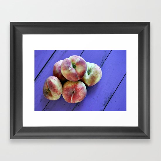 from the allotment Framed Art Print