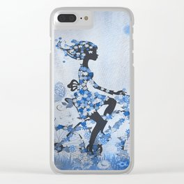 I Wanna Ride My Bicycle Clear iPhone Case