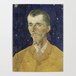 Eugene Boch by Vincent van Gogh Poster